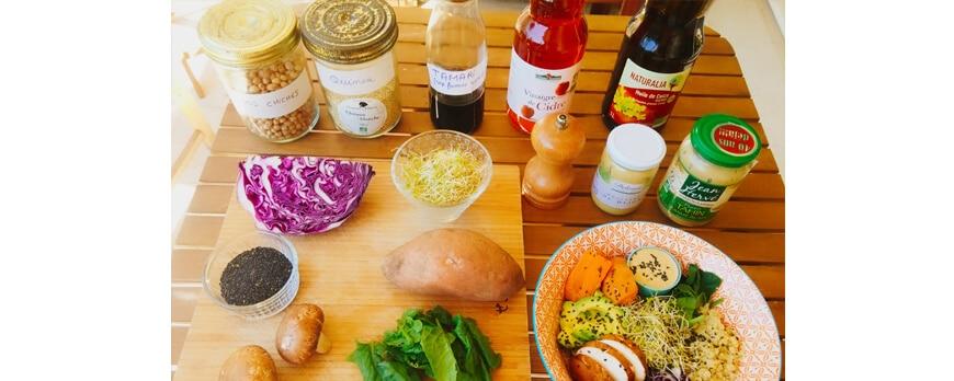 ingrédients buddha bowl