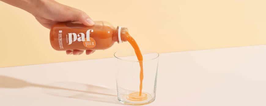 Jus carotte PAF - Pressé à Froid