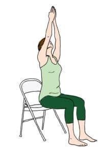 Posture yoga bureau 1