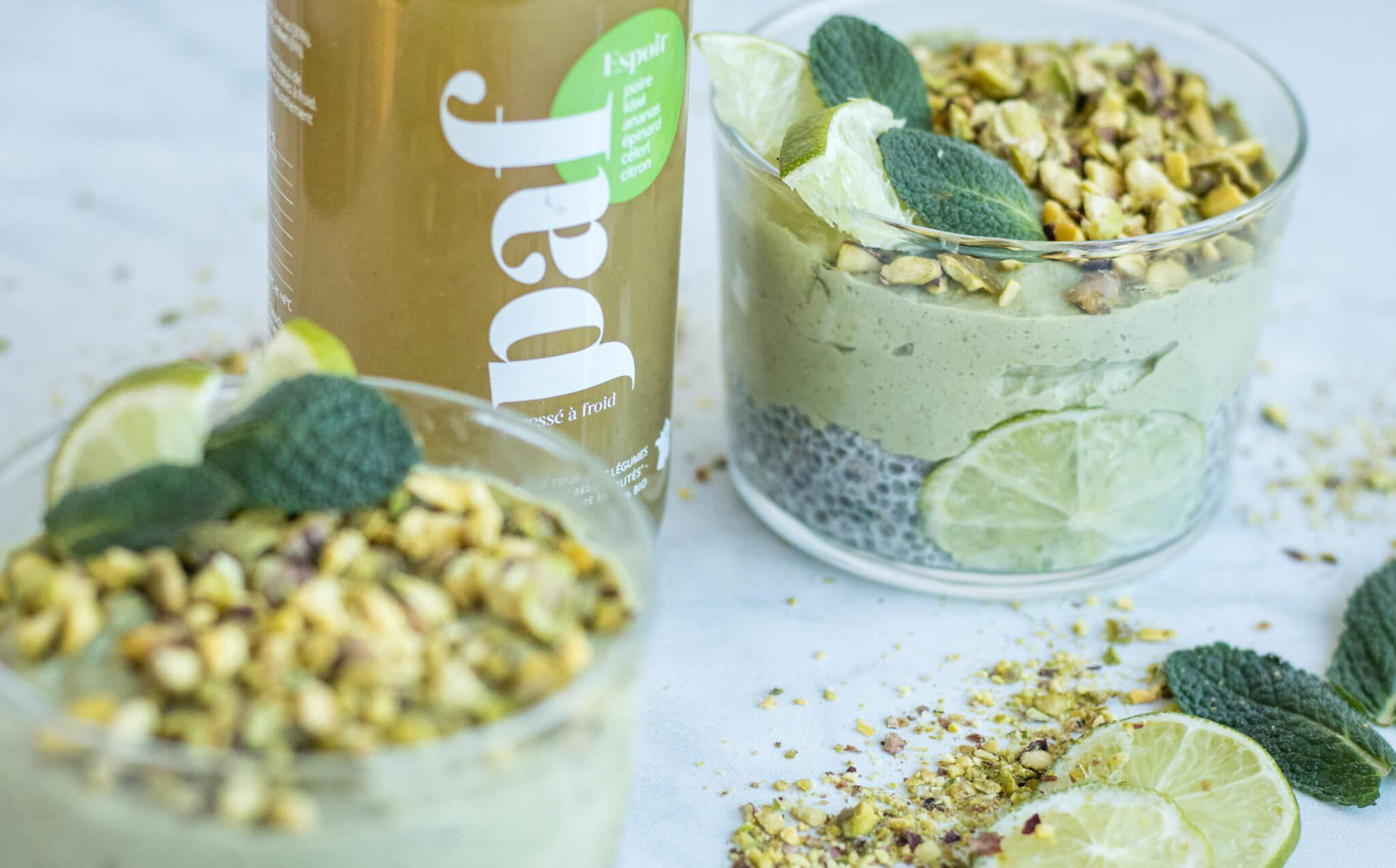 Recette healthy matcha by PAF