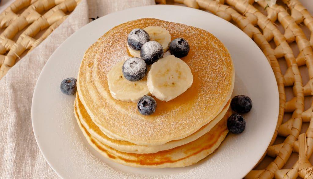 Pancakes sans gluten pour le brunch - Les Jus PAF